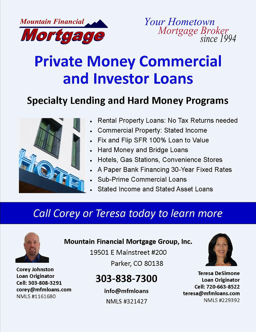 Looking for a commercial property loan?