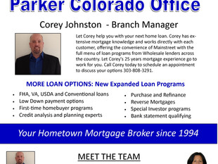 New Parker Colorado Mortgage Office