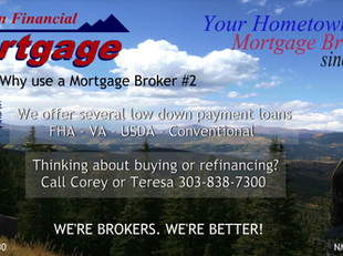 Low down payment loans!
