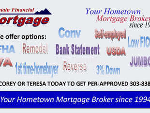We Offer Loan Options