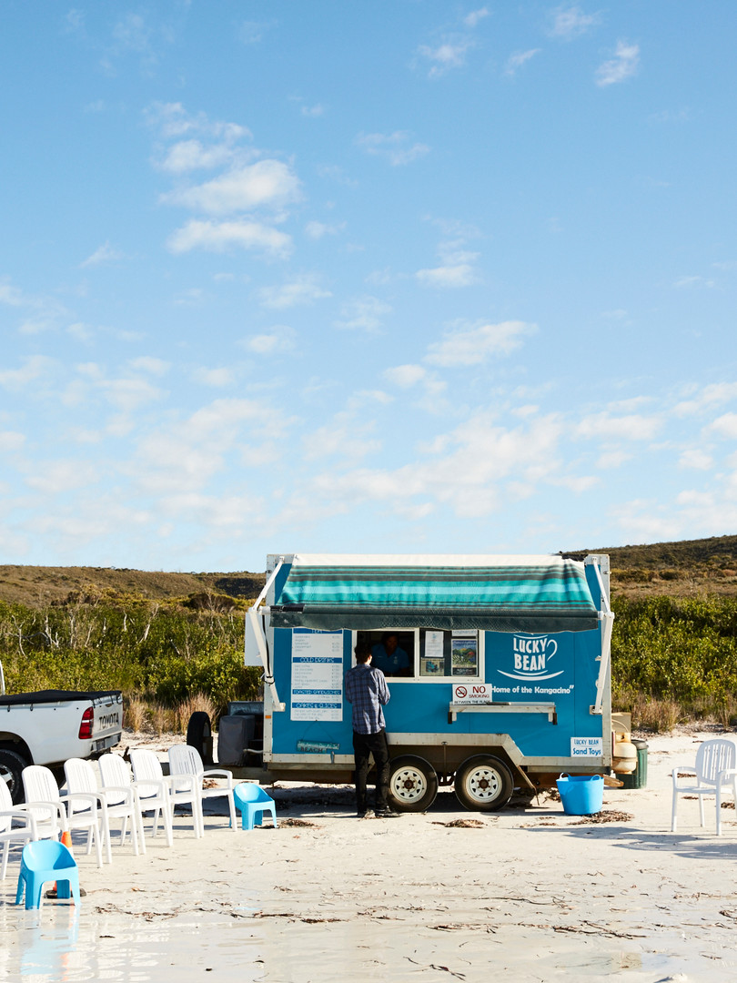 Lucky Bean Cafe at Lucky Bay Esperance (