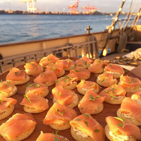 Boat Catering and Beverages ideas