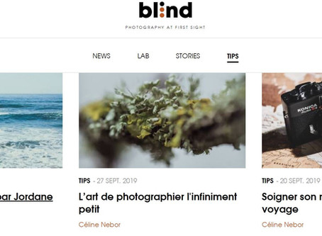 Blind Magazine - Rédaction de tutoriels photo