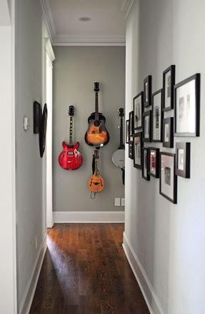 Paredes com guitarra