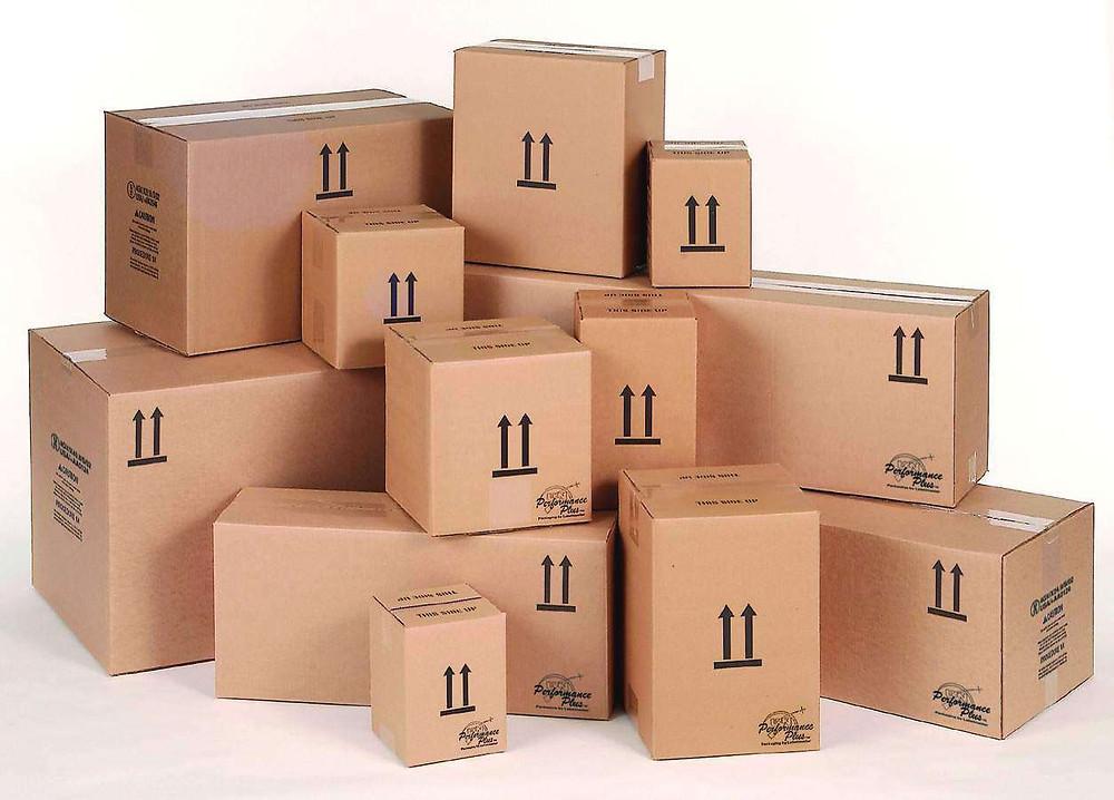 caixas de mudança