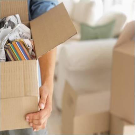 caixas são fundamentais para a mudança