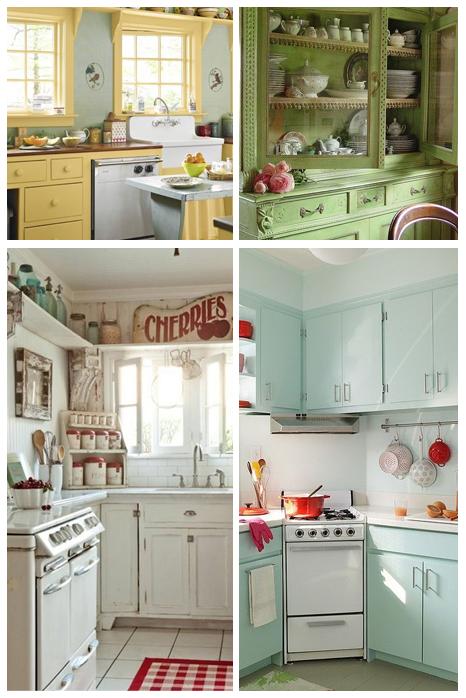 cozinha decoração vintage