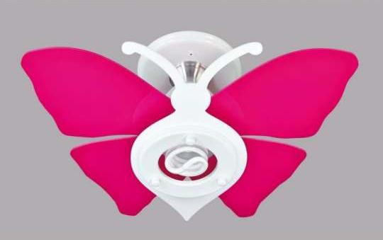 luminária de teto de borboleta