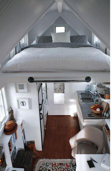 mezanino funcional como quarto de visita