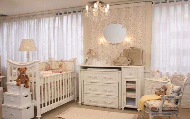 quarto de bebê decorado e funcional