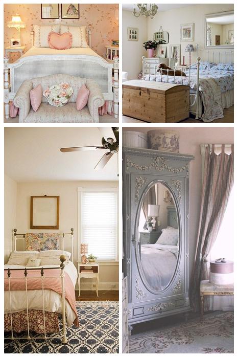 quarto de decoração vintage