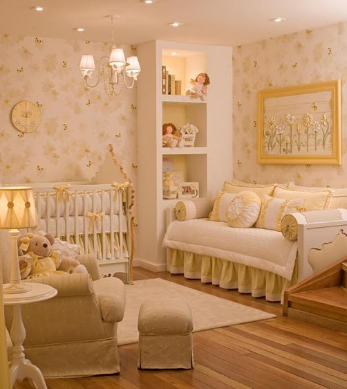 quarto de bebê classico