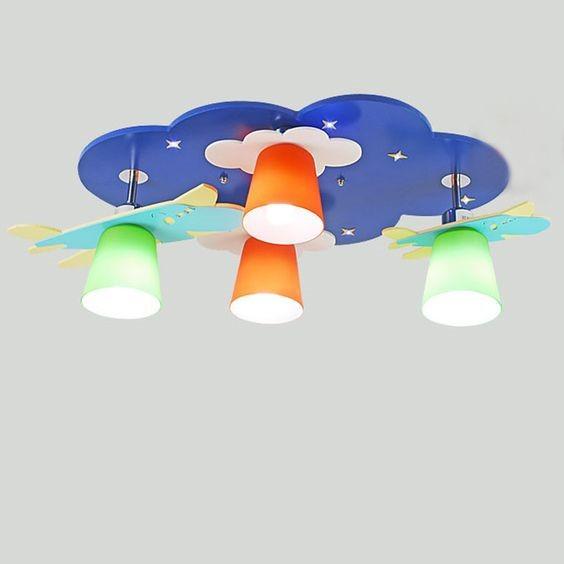 luzes de teto divertidas