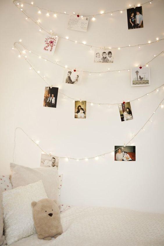 luzes e fotografias