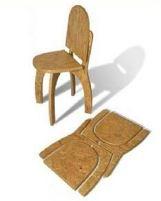 cadeira dobrável plana