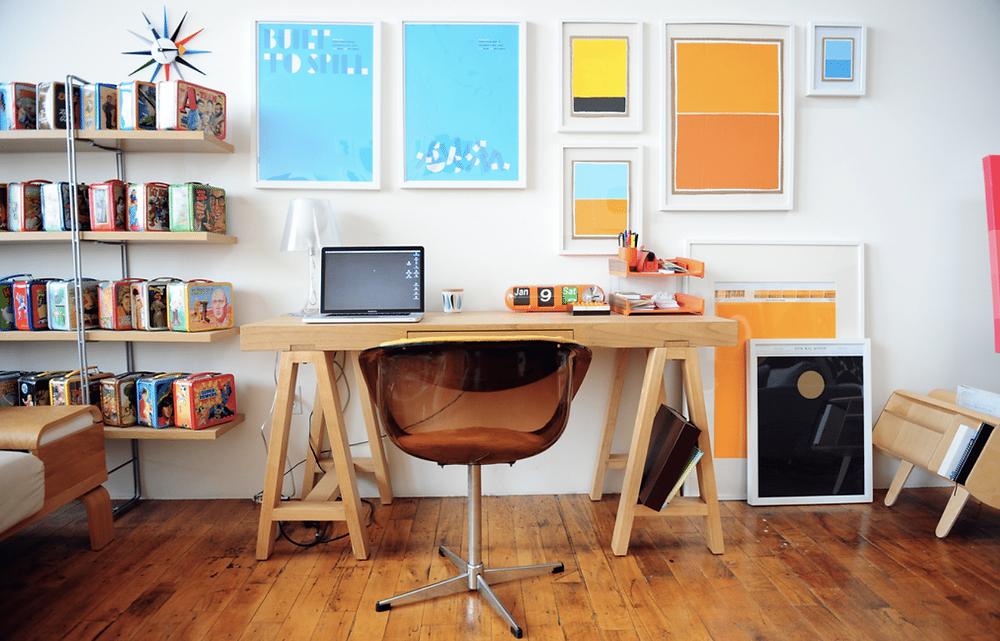 decoraçāo de home-office pop-part