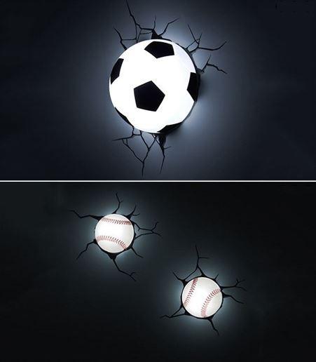 luminária de bolas