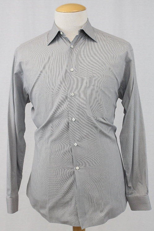 Ermenegildo Zegna Grey Long Sleeve 16 x 34
