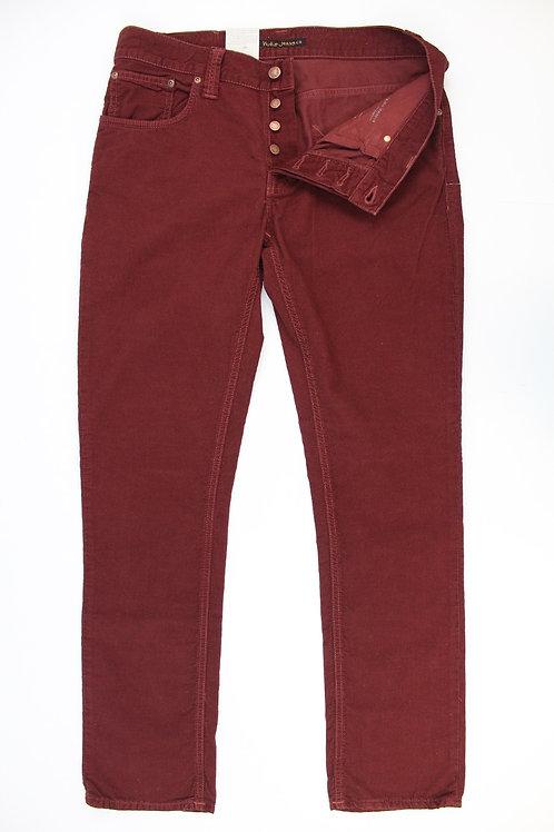 Nudie Jeans Co. Brick Flat Front Corduroy 33 x 32