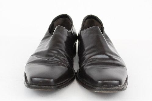 Donald J. Pliner Brown Dress Slip on Loafer 12