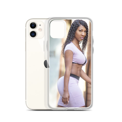 Walking to see you iPhone Case