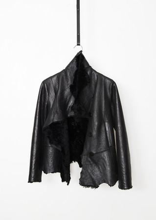 Nappa shearling jacket