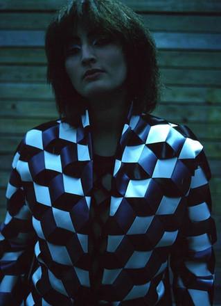 Braided silk ribbon blazer