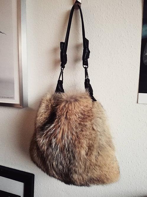 Vintage Fox Shoulder Bag