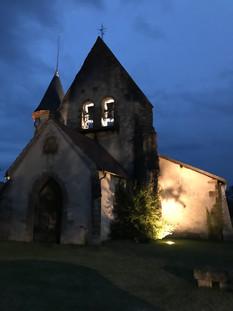 LA LA LANDES église de Vert