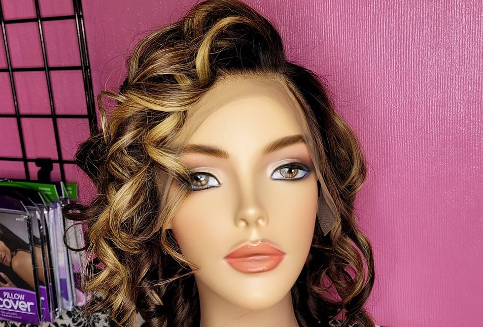 13x4 Frontal Highlighted Wig