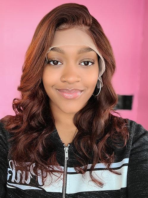 "18"" 13x4 Frontal Wig w/ Custom color"