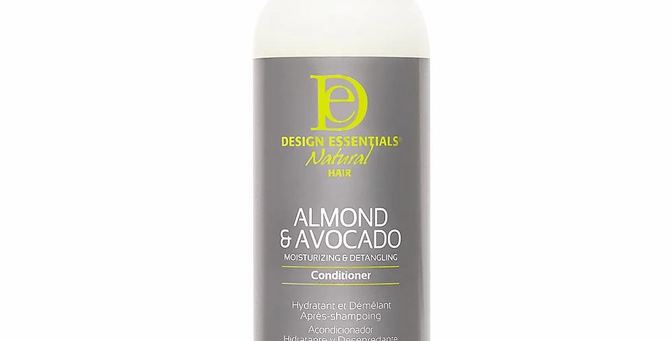 Design Essentials Almond & Avocado Moisturizing & Detangling Conditioner