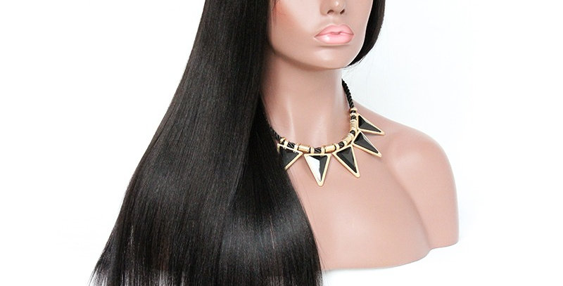 180% Density Straight 4x4 Lace Closure Wig