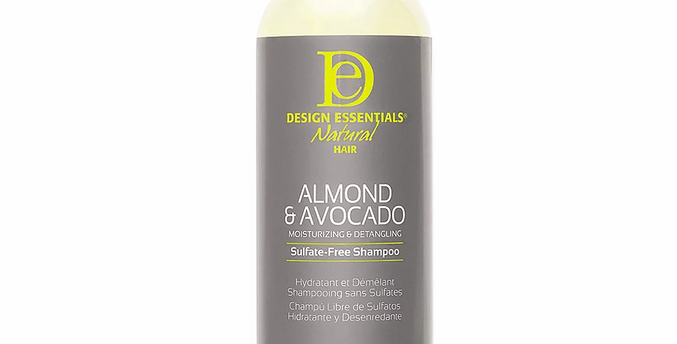 Design Essentials Almond & Avocado Sulfate-Free Shampoo