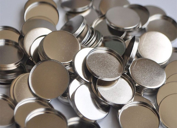 25 EMPTY MAGNETIC EYESHADOW PANS (26mm)