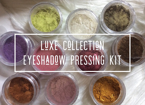 LUXE COLLECTION - DIY EYESHADOW PRESSING KIT