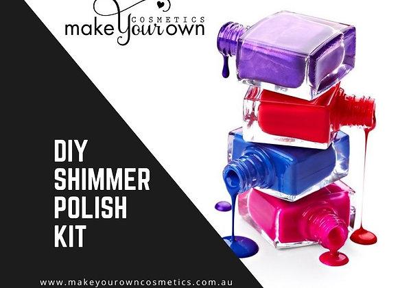 DIY SHIMMER NAIL POLISH KIT