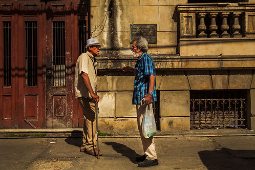 Two Amigos in Havana