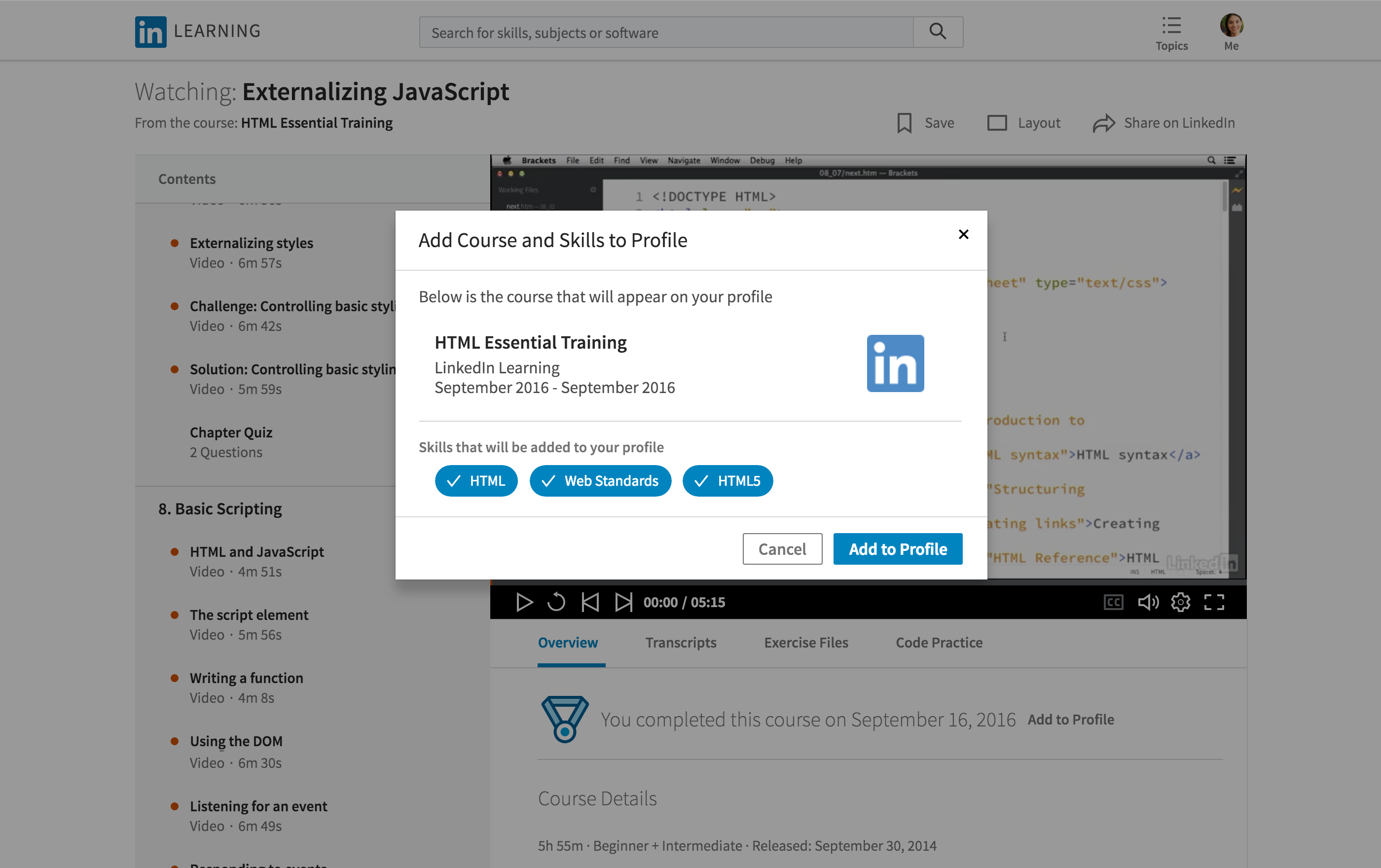 LinkedIn Learning is Here!