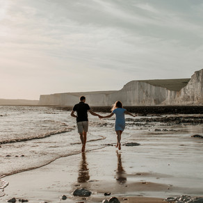 Abi and Paul's Beach Engagement Shoot