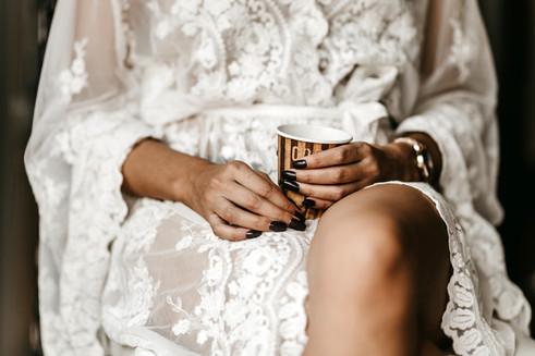 bride prep in mallorca