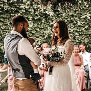 Rebecca & Andy's Intimate Wedding