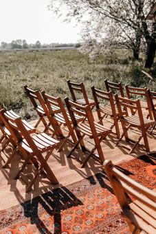 kent outdoor wedding ceremony