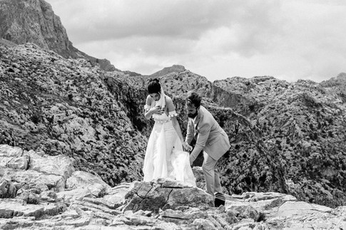 mallorca mountain elopement