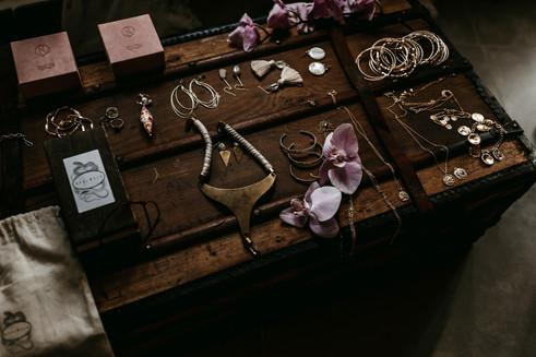 boho wedding jewellery