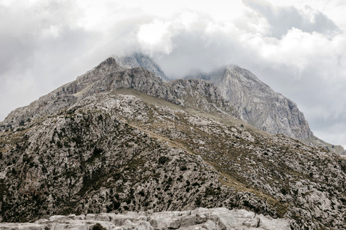 rugged mountains in Mallorca