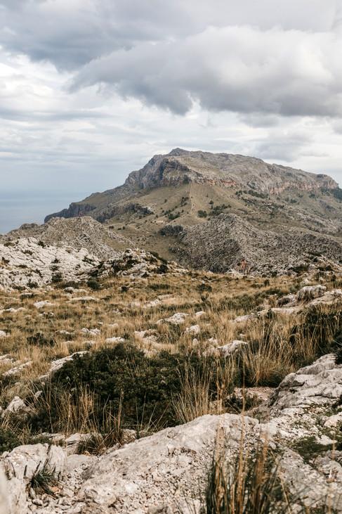 landscape photography of Mallorca mountains