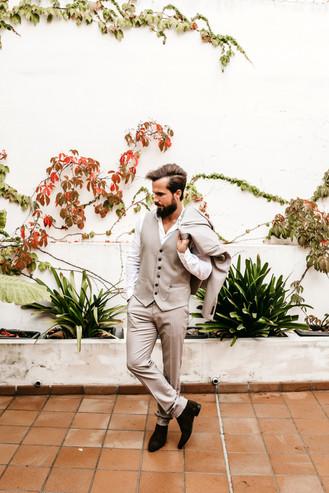 groom in Mallorca