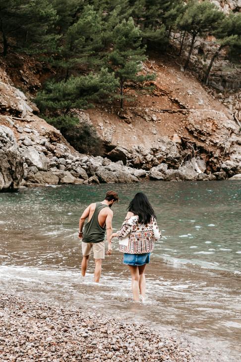 couple photography in Mallorca