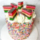 RAINBOW COOKIE PIÑATA CAKE 🌈🍰💥what's